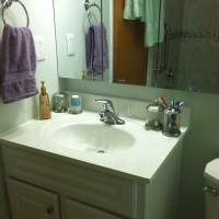 2014 - March - New bathroom at 611 (7)